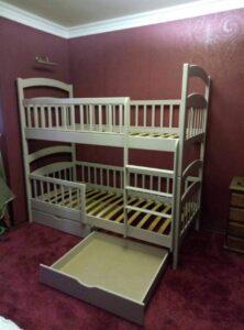 Двухъярусная кровать Карина Люкс с ящиками - karinalux.com.ua