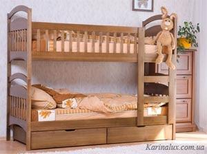 Ліжко двоярусне «Карина Посилена»