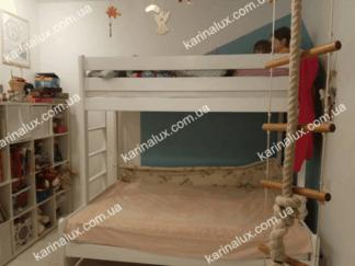 Бенжамин - кровать детская двухъярусная - фото - karinalux.com.ua