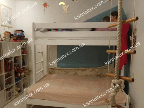 «Бенжамин» – кровать детская двухъярусная