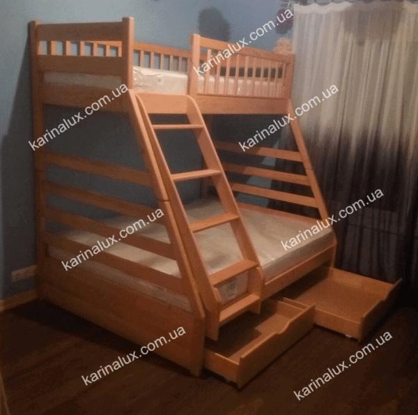 кровать детская двухъярусная Юлия - karinalux.com.ua
