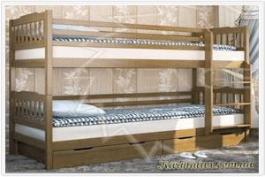 Фото - кровать детская двухъярусная Елена