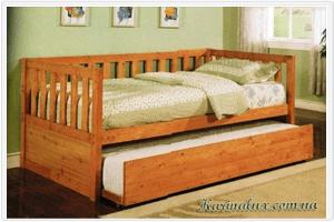 Фото - кровать детская односпальная Гудзон