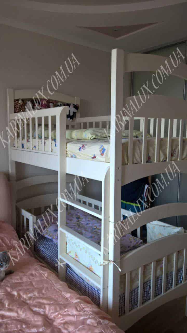 Кровать двухъярусная Карина люкс - karinalux.com.ua