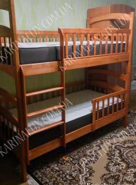 Двухъярусная кровать Карина Люкс фото - karinalux.com.ua