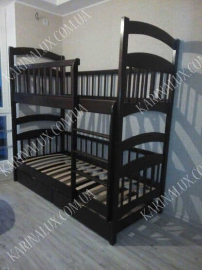 Двоярусне ліжко «Карина Люкс Посилена»