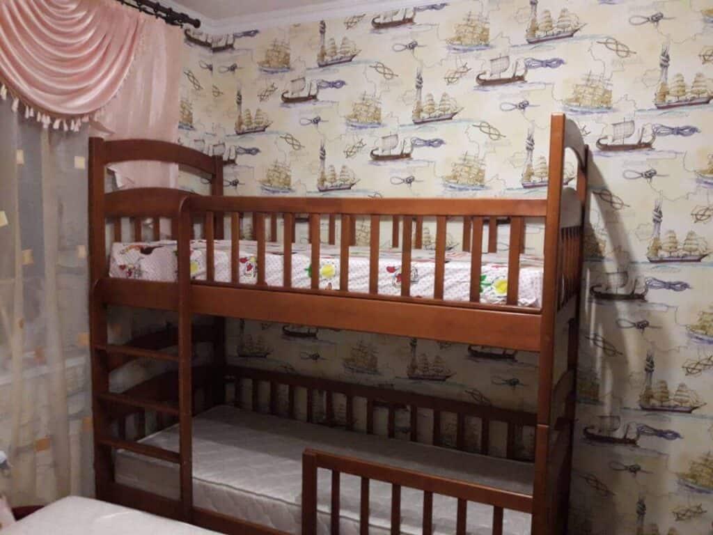 Двухъярусная кровать - Карина Люкс - цвет ольха