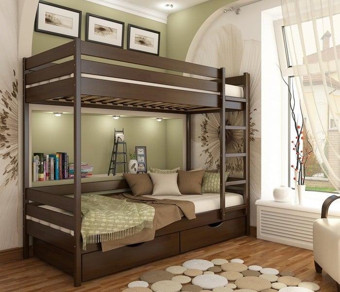 «Дуэт» – кровать детская двухъярусная
