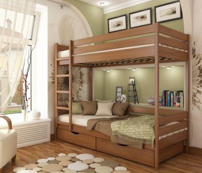 «Дуэт» — кровать детская двухъярусная