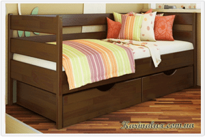 Фото кровать детская односпальная Нота