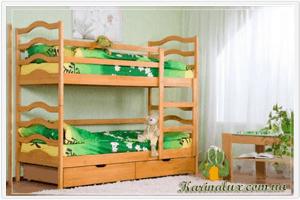 Фото - кровать детская двухъярусная София