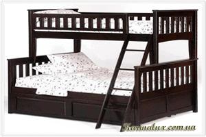 «Жасмин» — кровать детская двухъярусная