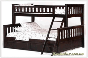 Фото - Кровать двухъярусная Жасмин