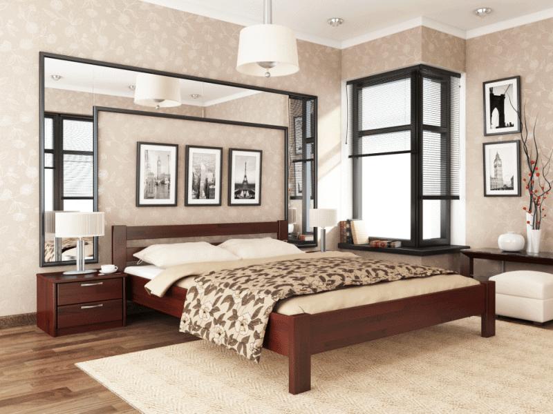 Двуспальная кровать Рената - karinalux.com.ua