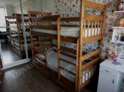Колобок — кровать детская двухъярусная
