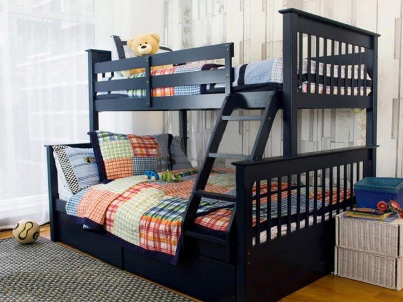 Кровать детская двухъярусная Олимп Олигарх - karinalux.com.ua