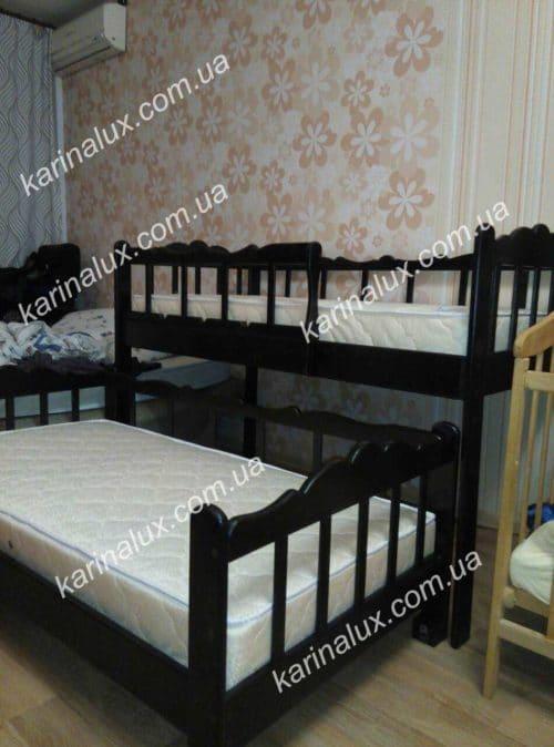 Двухуровневая кровать «Трембита» - karinalux.com.ua