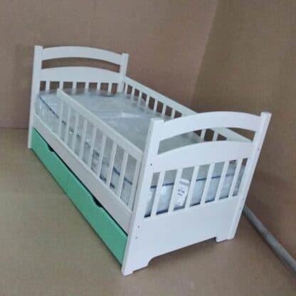 Односпальне дитяче ліжко – Карина преміум